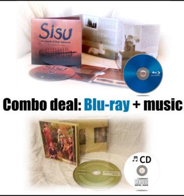 Combo Sisu Blu-ray and MeNaiset muisc CD Kelu