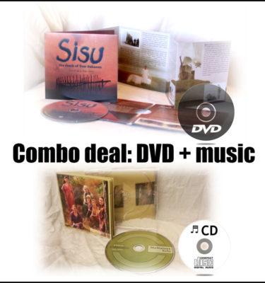 Combo Sisu DVD and MeNaiset muisc CD Kelu